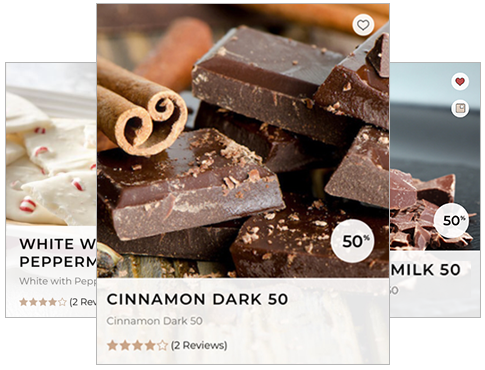 Collection of chocolate recipes for making chocolate at home from cocoa beans, nibs, butter, sugar